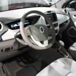 Vienna Autoshow 2013 Renault ZOE Innenraum