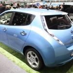 Vienna Autoshow 2013 Nissan Leaf Elektroauto
