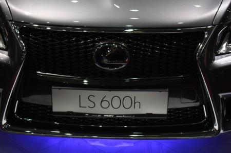 Vienna Autoshow 2013 Lexus LS 600h