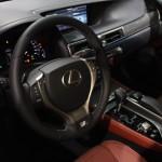 Vienna Autoshow 2013 Lexus GS 450h Innenraum
