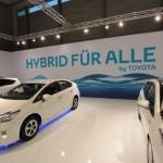 Vienna Autoshow 2013 Toyota Hybrid