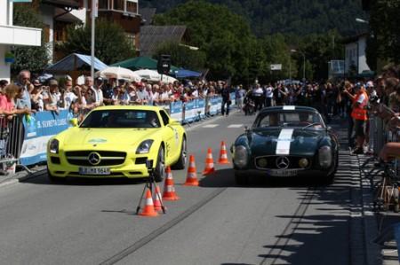 Silvretta_Classic_Rallye_E-Auto_Montafon_2013_Mercedes-Benz