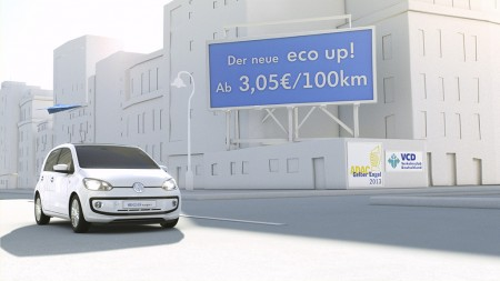 "Volkswagen startet neue internationale Marketing-Kampagne ""Think Blue.Book."" Spot zum eco up!"