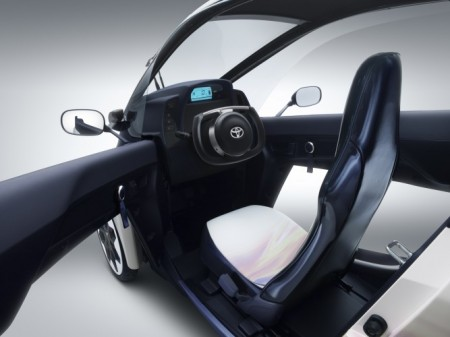 Toyota i-Road Innenraum