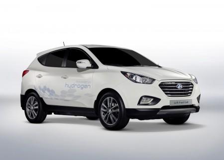 Hyundai ix35 Fuel Cell Wasserstoff Auto