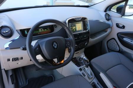 Renault Zoe Innenraum