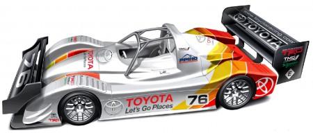 Toyota TMG EV P002 Elektrorennwagen