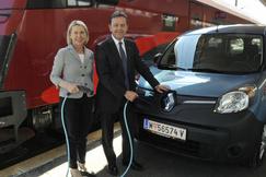 Klimastaffel 2013 Elektroauto Renault
