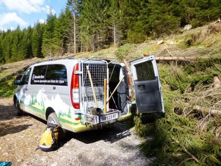 Mercedes-Benz Vito 4x4 Wald