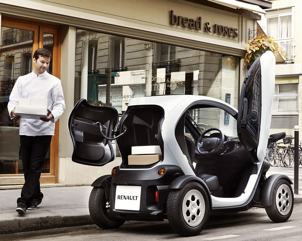 renault twizy cargo alternativantriebe. Black Bedroom Furniture Sets. Home Design Ideas