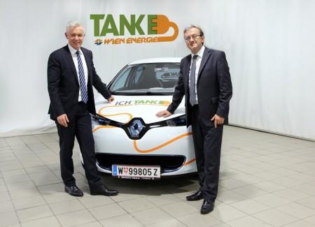 Renault ZOE WienEnergie M.Hesz Elektroauto