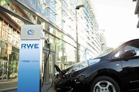 RWE Elektrotankstelle E-Ladestation