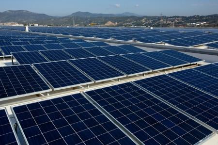 Solaranlage Seat Martorell Spanien