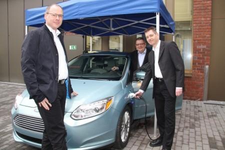 Ford Focus Electric für die HTW Saar