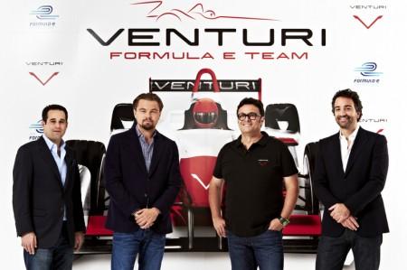 Leonardo di Caprio Venturi Formel E