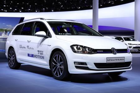 neuer Volkswagen Golf Variant TGI BlueMotion Erdgas
