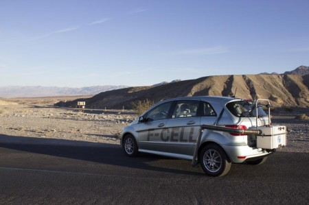 Mercedes-Benz B-Klasse F-Cell Diane Kruger Wasserspender Death Valley