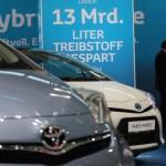Vienna Autoshow 2014 Toyota Hybrid Modelle