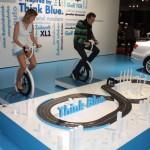 Vienna Autoshow 2014 VW Think Blue