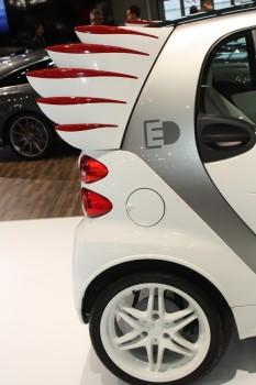 Vienna Autoshow 2014 smart fortwo ed Jeremy Scott
