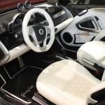 Vienna Autoshow 2014 smart fortwo ed Jeremy Scott Innenraum