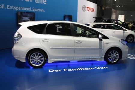 Vienna Autoshow 2014 Toyota Prius+ Hybrid
