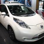Vienna Autoshow 2014 Nissan Leaf