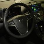 Vienna Autoshow 2014 Opel Ampera Innenraum