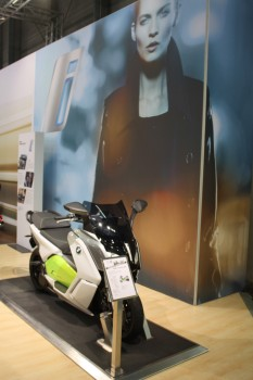 Vienna Autoshow 2014 BMW electro Roller