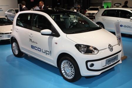 Vienna Autoshow 2014 VW e-up!