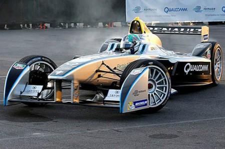 Formel E-Auto Elektro Formel Wagen SRT_01E