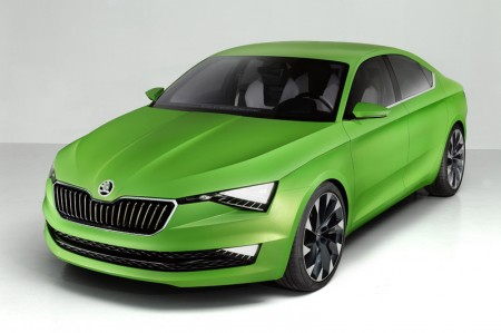 Skoda VisionC Erdgas Auto
