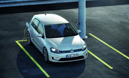 neuer VW-Golf-e-Golf-Volkswagen-Front