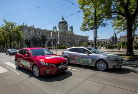 Mazda3 Urban Challenge Wien Ringstraße