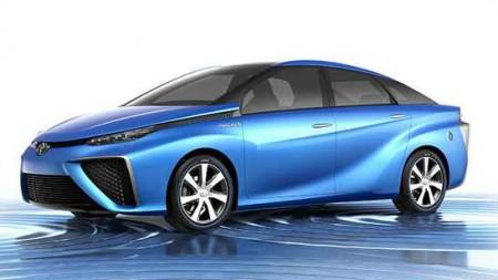Toyota FCV Concept Brennstoffzellen Auto