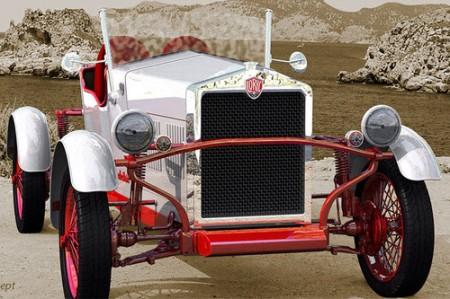 Erfinder Charly Bosch Marke Loryc Elektroauto