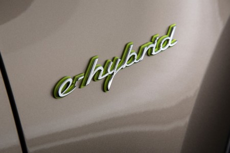 Porsche Cayenne S E-Hybrid Logo Emblem