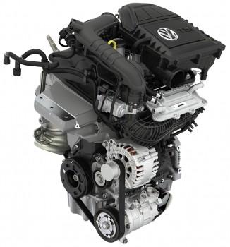 1.0 TSI Motor Dreizylinder Volkswagen