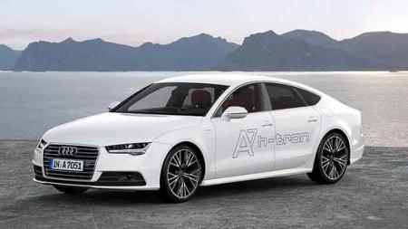 Audi A7 Sportback h-tron quattro Brennstoffzelle