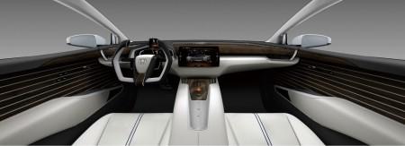 Honda FCV Concept Cockpit