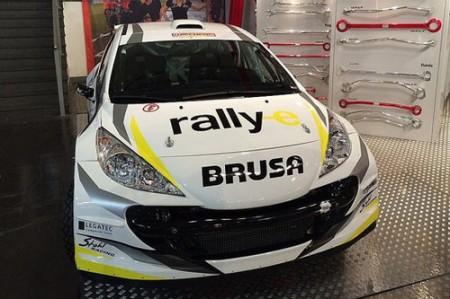 Peugeot 207 S2000 Elektrorallyeauto rallye-e Stohl Racing