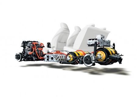 Toyota Mirai Antriebskonzept