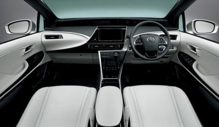Toyota Mirai Innenraum