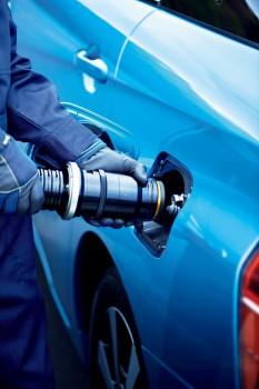 Toyota Mirai Wasserstoffbetankung