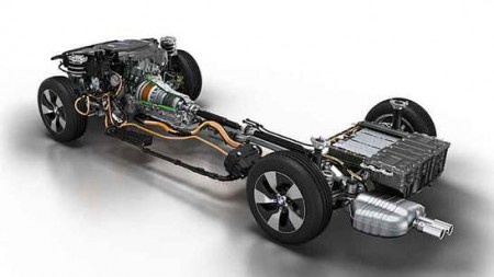 Antriebsstrang BMW 3er Plugin-Hybrid