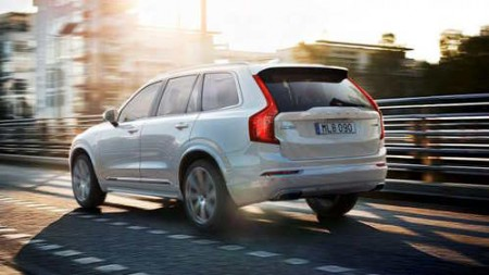 Volvo XC90 Plug-in-Hybrid Heck