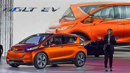 GM Chefin Mary Barra Chevrolet Bolt