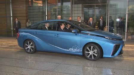 Toyota Mirai Brennstoffzelle