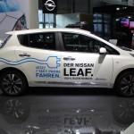Vienna Autoshow 2015 Nissan Leaf