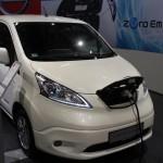Vienna Autoshow 2015 Nissan e-NV200 Evalia